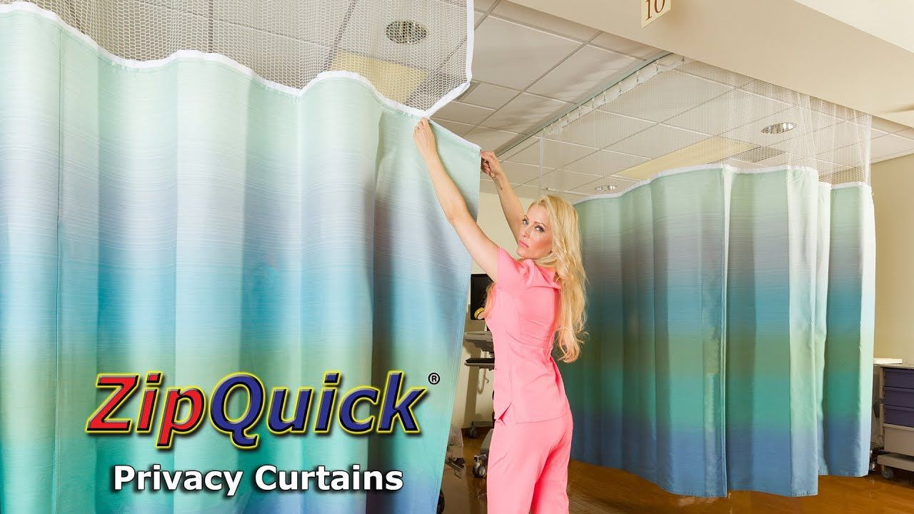 Zipquick Hospital Privacy Curtain Video 2019 Privacy Curtains
