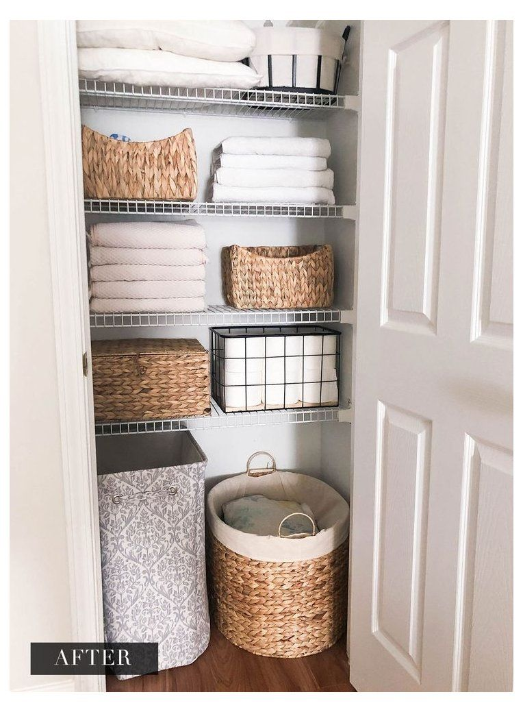 Organization Series Linen Closet Pantry Organization Ideas Small Deep Pantryorganizationide In 2020 Linen Closet Small Apartment Bathroom Master Bathroom Design