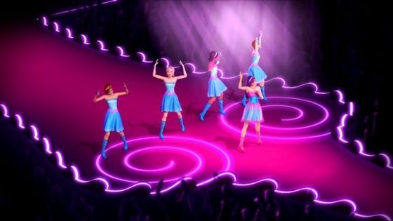 Here I Am/Princesses Just Want To Have Fun lyrics - Barbie