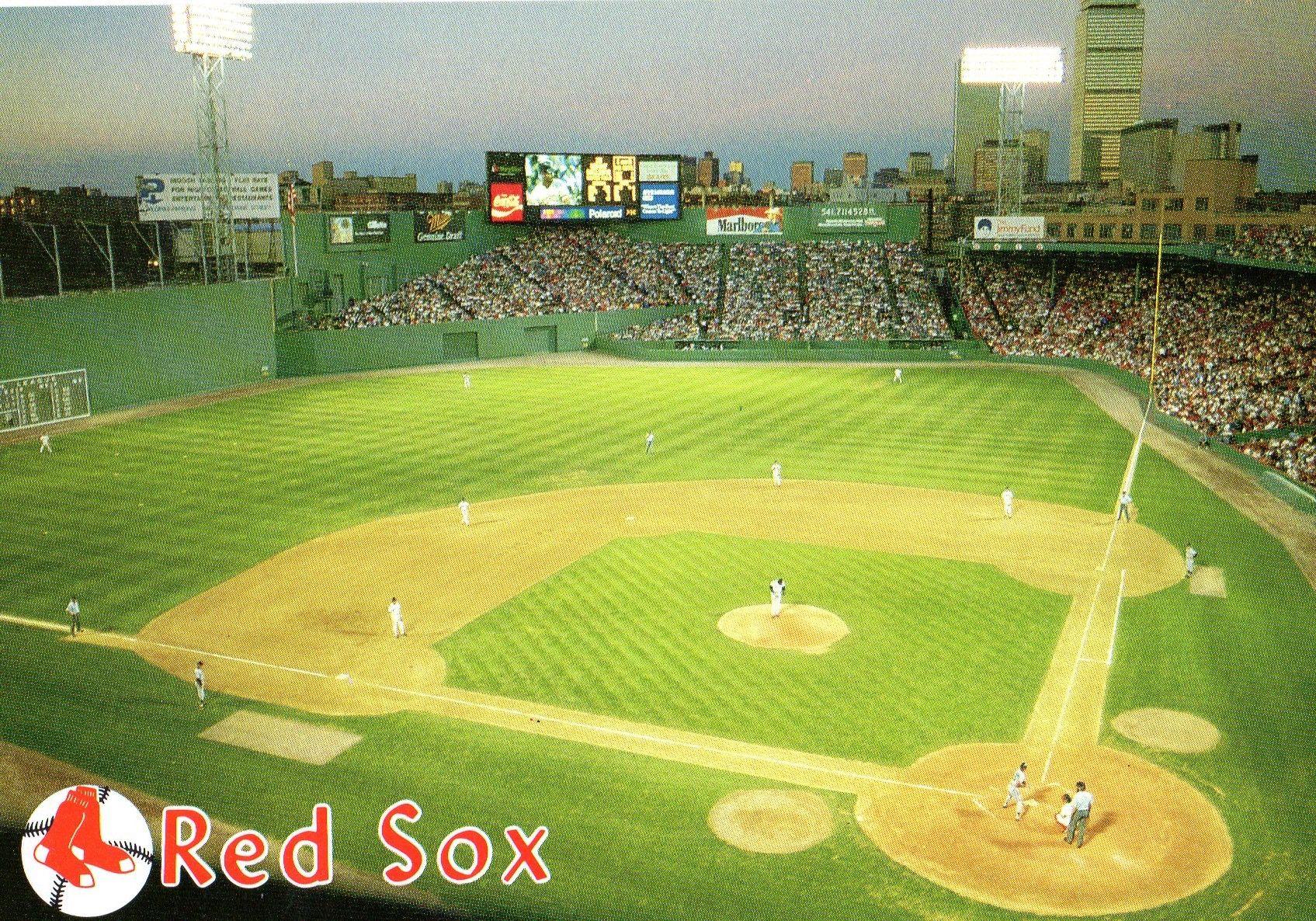 Fenway Park, Boston ( circa 1990 ) | Baseball | Pinterest | Fenway park