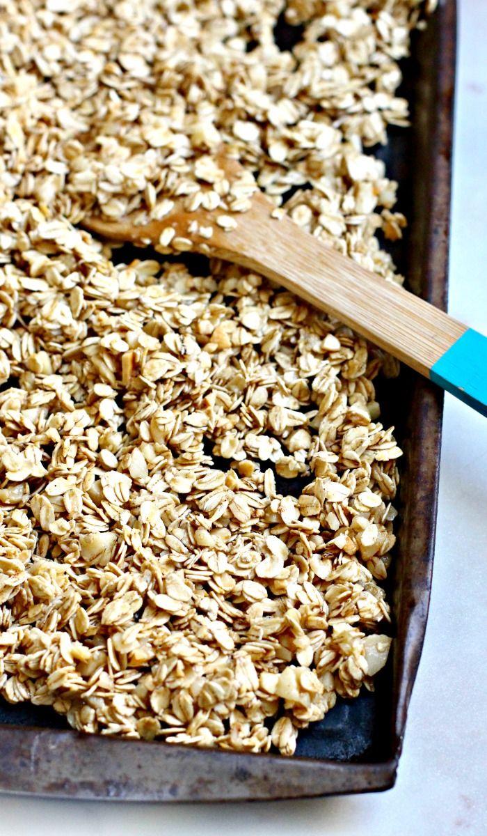 Easy Homemade Granola | Recipe | Food recipes, Granola