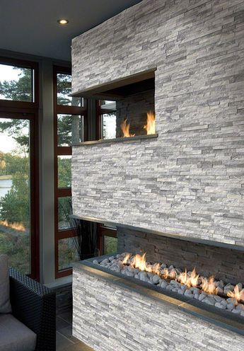 SognareALA Grey Ledger\/Stacked Stone Panels Stone veneer panels - ledger form