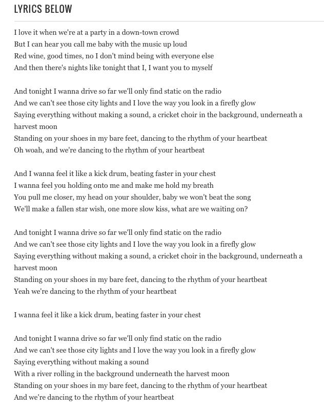 Carrie Underwood S Heartbeat Beautiful Quotes Kiss Books Music Lyrics