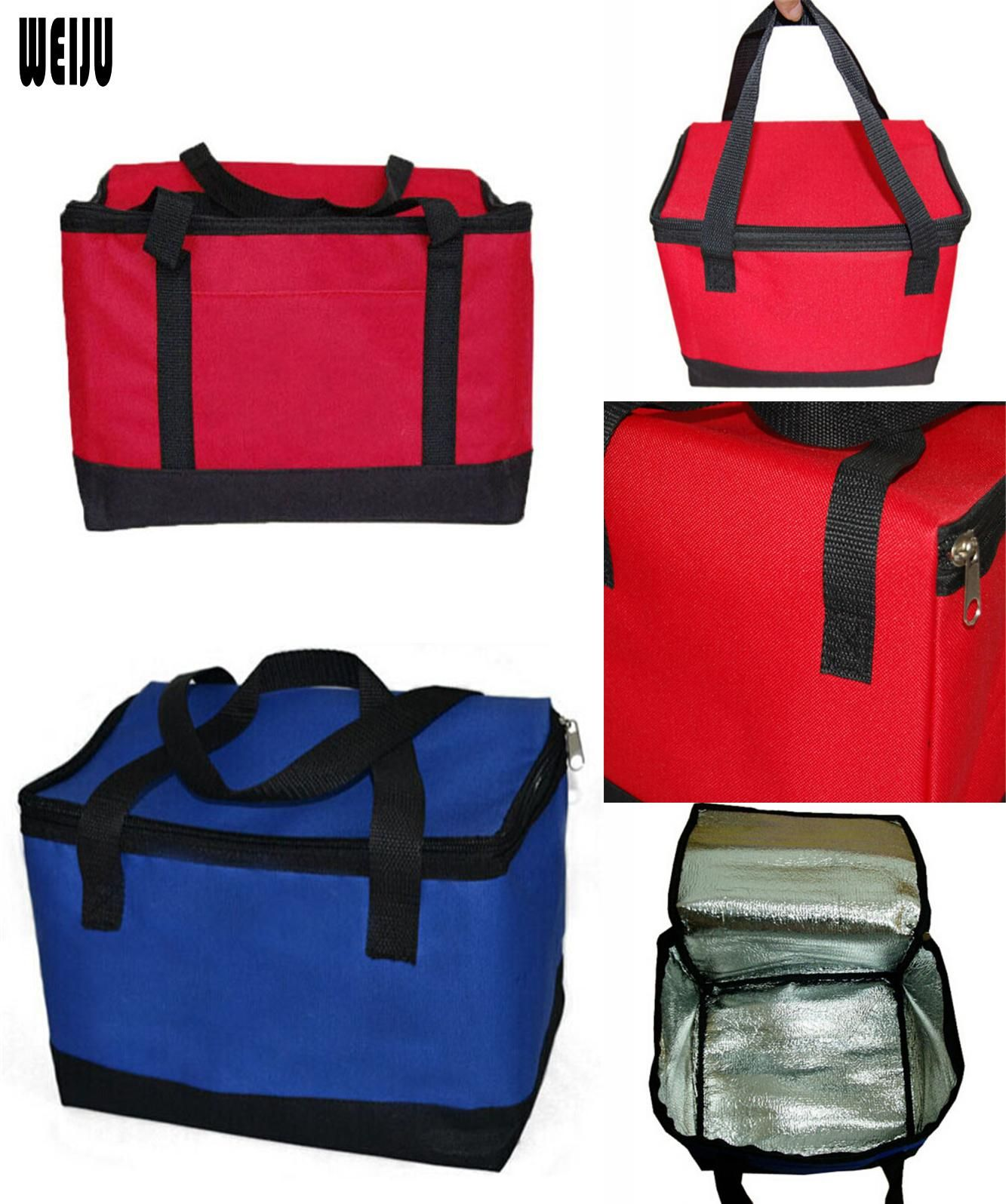 Visit To Buy Hot Sale Cooler Bag Folding Insulation Large Meal Package Lunch Picnic Bag Insulation Thermal Insulated Water Functional Bag Picnic Bag Fun Bags