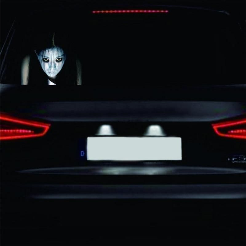Car Rear Window Ghost Stickers 3d Car Sticker Reflective Auto