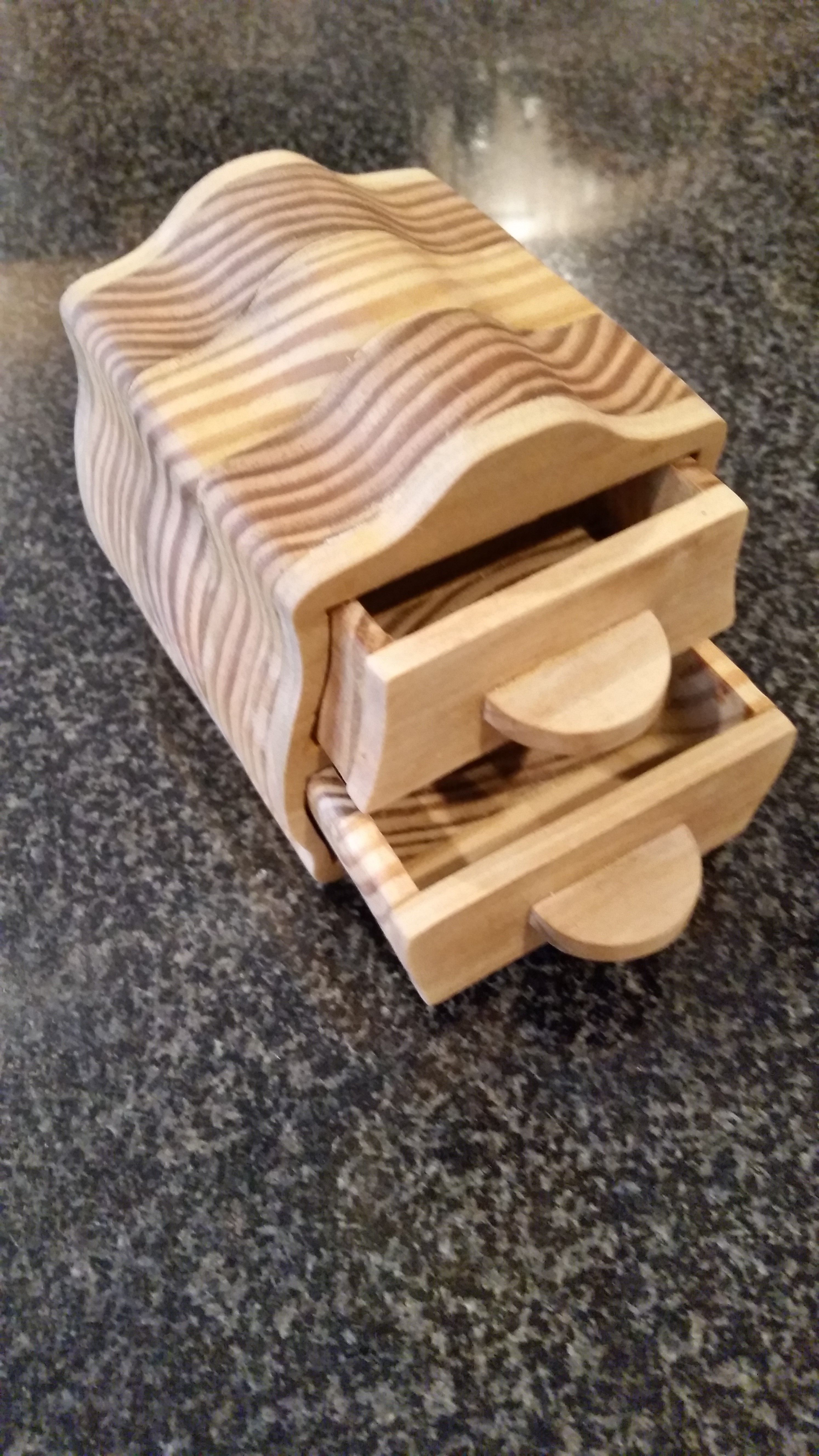 Scroll Saw Jewelry Box from Scrap Wood Tools For Woodworking
