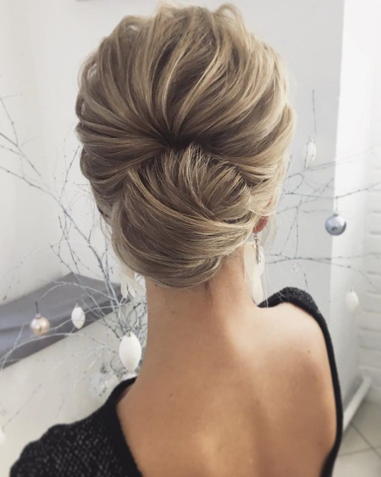 Prom Hairstyles For Medium Hair Beauteous The Most Romantic Bridal Updos Wedding Hairstyles  Hair Wedding