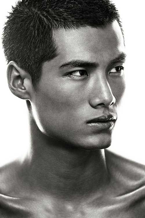 Found On Bing From Www Mens Hairstyle Com Asian Male Model Male Face Face