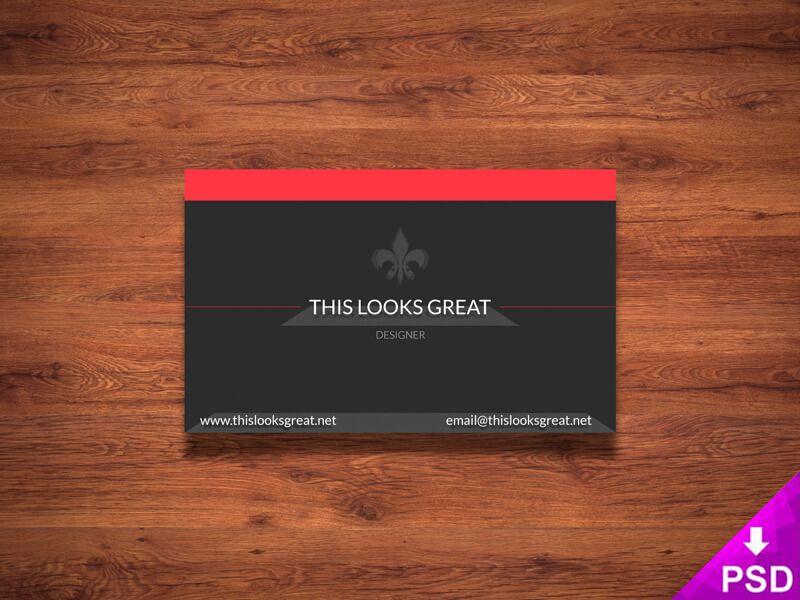 Business Card Mockup Mock Ups Photoshop Psd Freebies