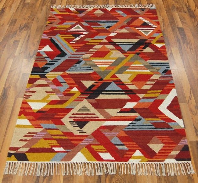 Kilim Contemporary Rugs Red Online Bright Wine Burgundy
