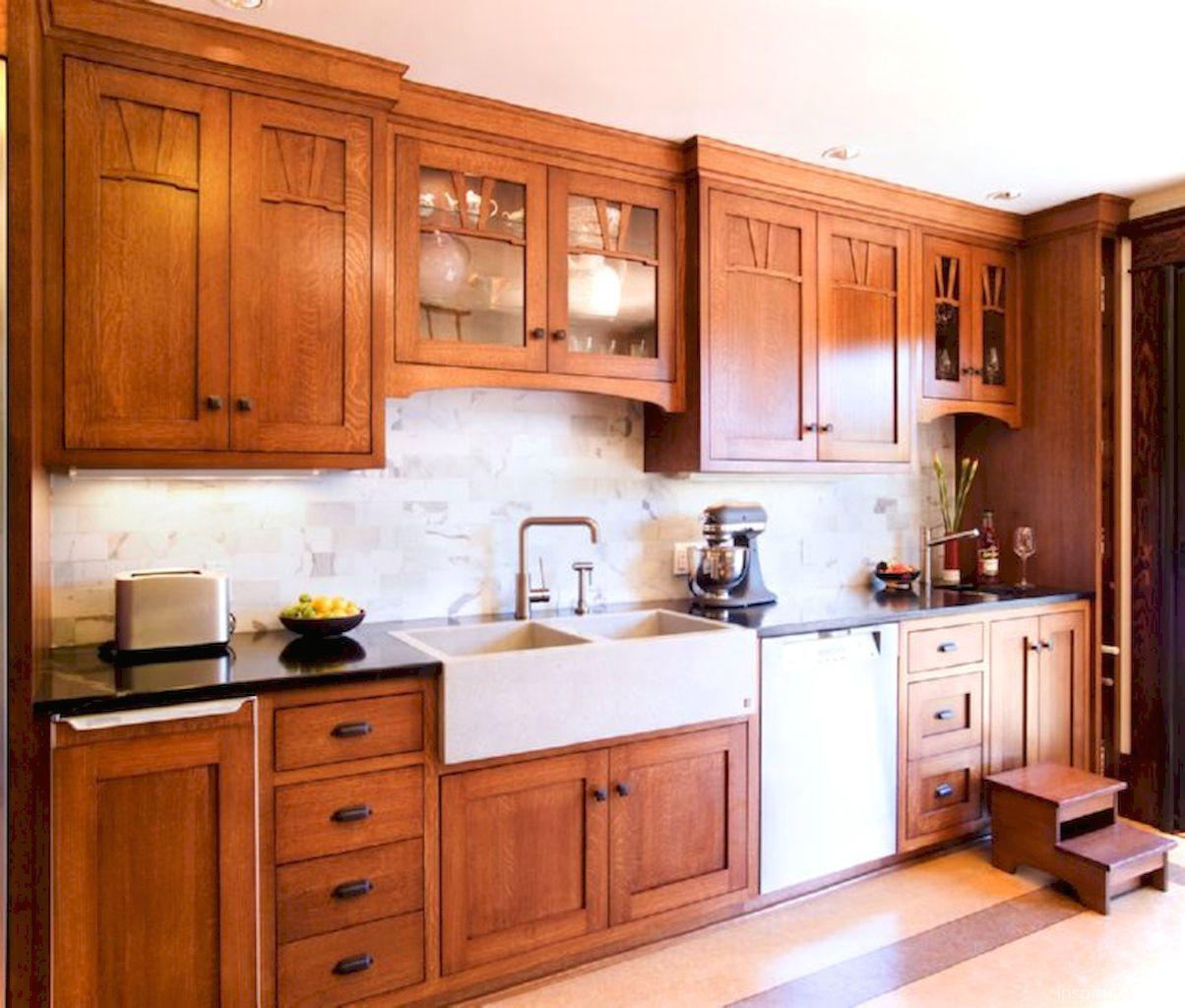 Adorable 60+ Cottage Kitchen Cabinets Ideas Farmhouse ...