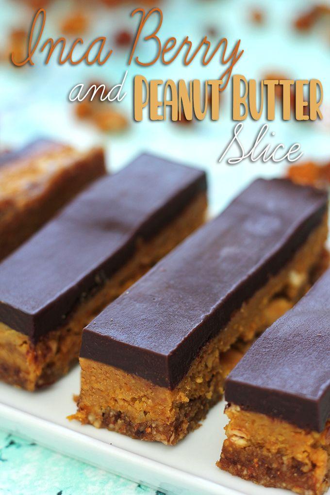 Inca Berry and Peanut Butter Slice - Healthy \u0027n Happy Healthy \u0027n