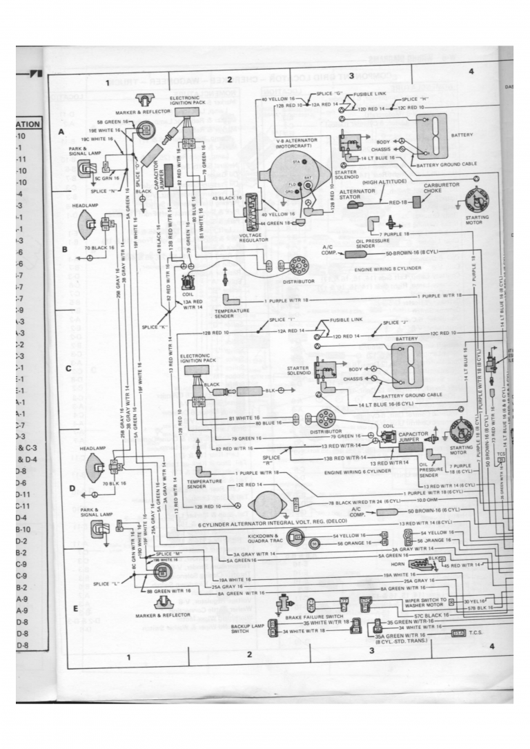 Jeep Wagoneer Wiring Diagram Also Instrument Cluster Wiring Diagram