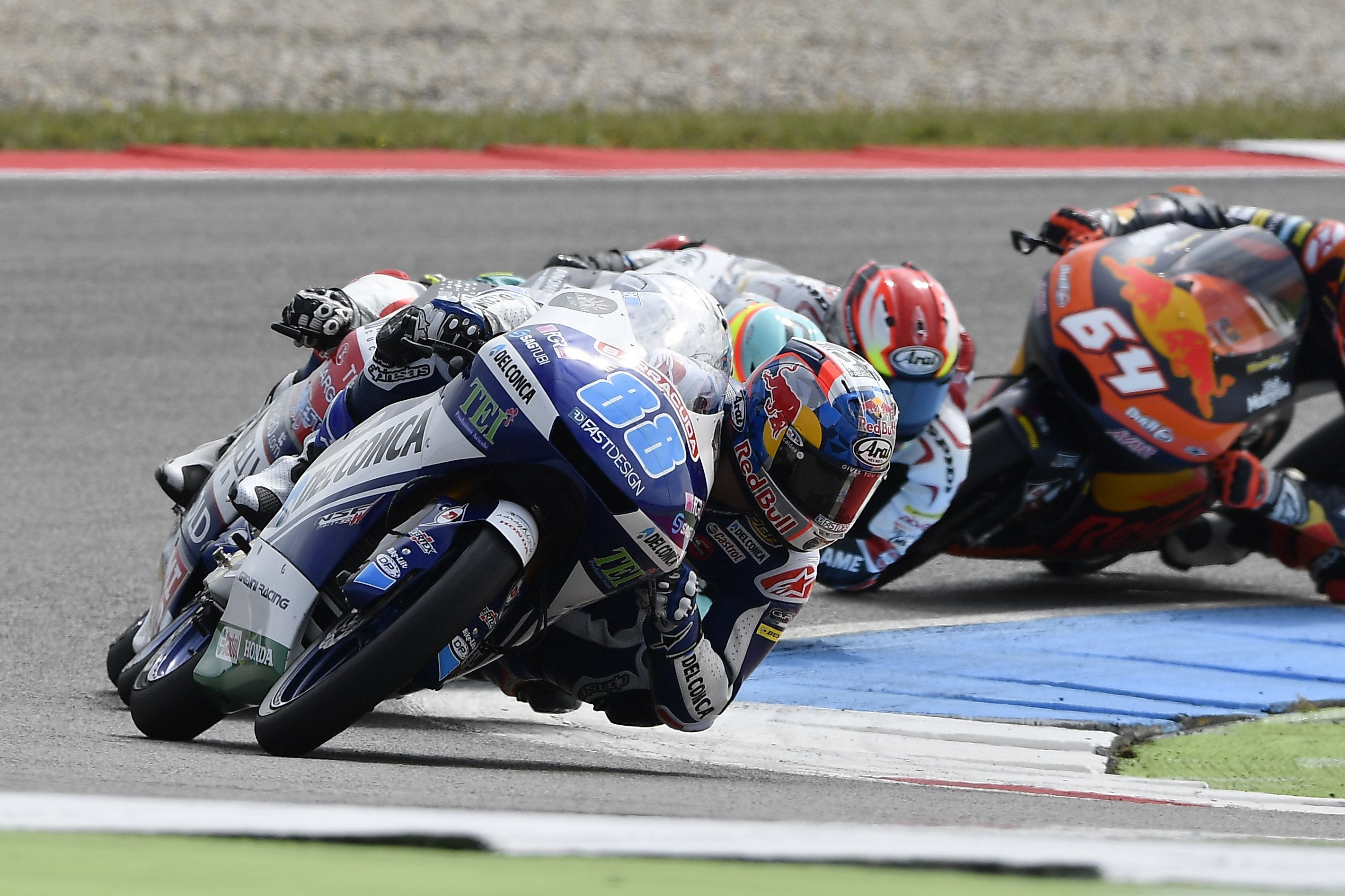 From Vroom Mag... Brave Jorge Martin misses out on Dutch podium by few hundredths of a second