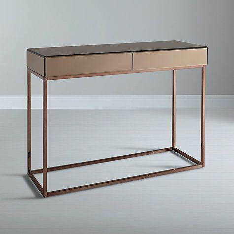 Buy John Lewis Halkin Console Table Bronze Online at johnlewis