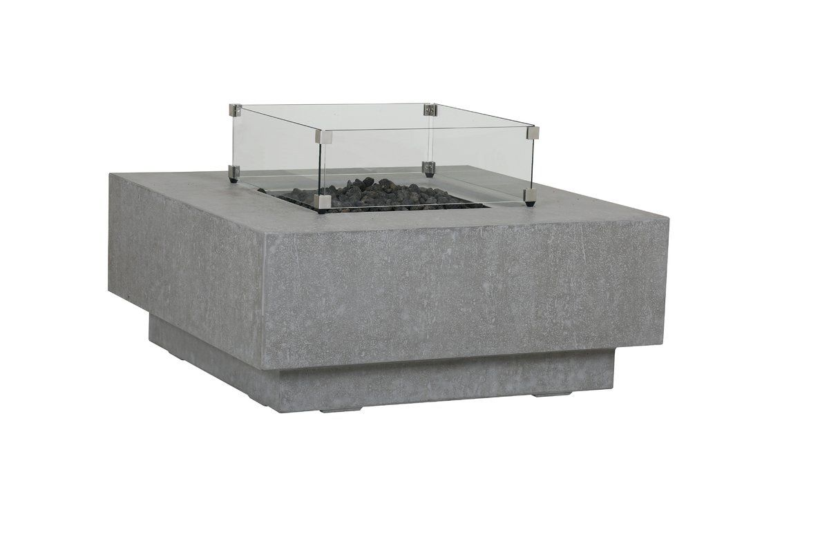 Concrete Propane Fire Pit Table Fire Table Propane Fire Pit Table