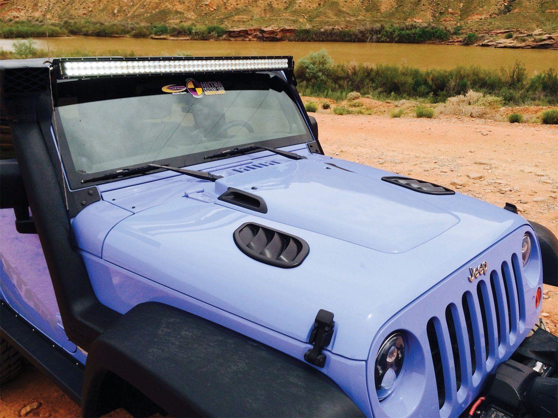 Daystar KJ71050BK Hood Cowl Kit for Jeep Wrangler JK