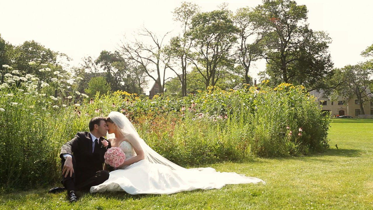 Milwaukee Wisconsin Wedding Video At St Monica S Catholic Church In Whitefish Bay And