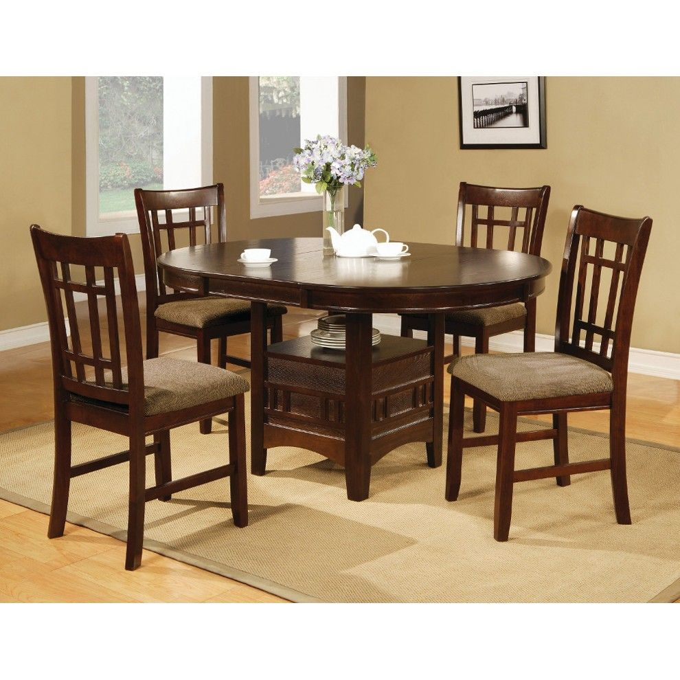 hudson dining - table & 4 chairs (2155) : dining sets | conn's