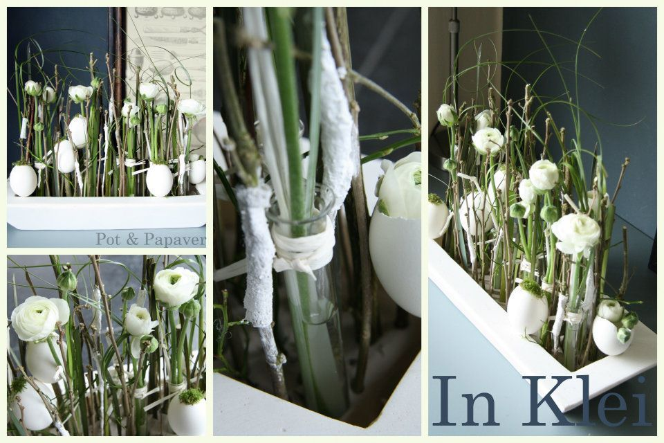 (1) Workshops Lente / Pasen 2012 Pot en papaver
