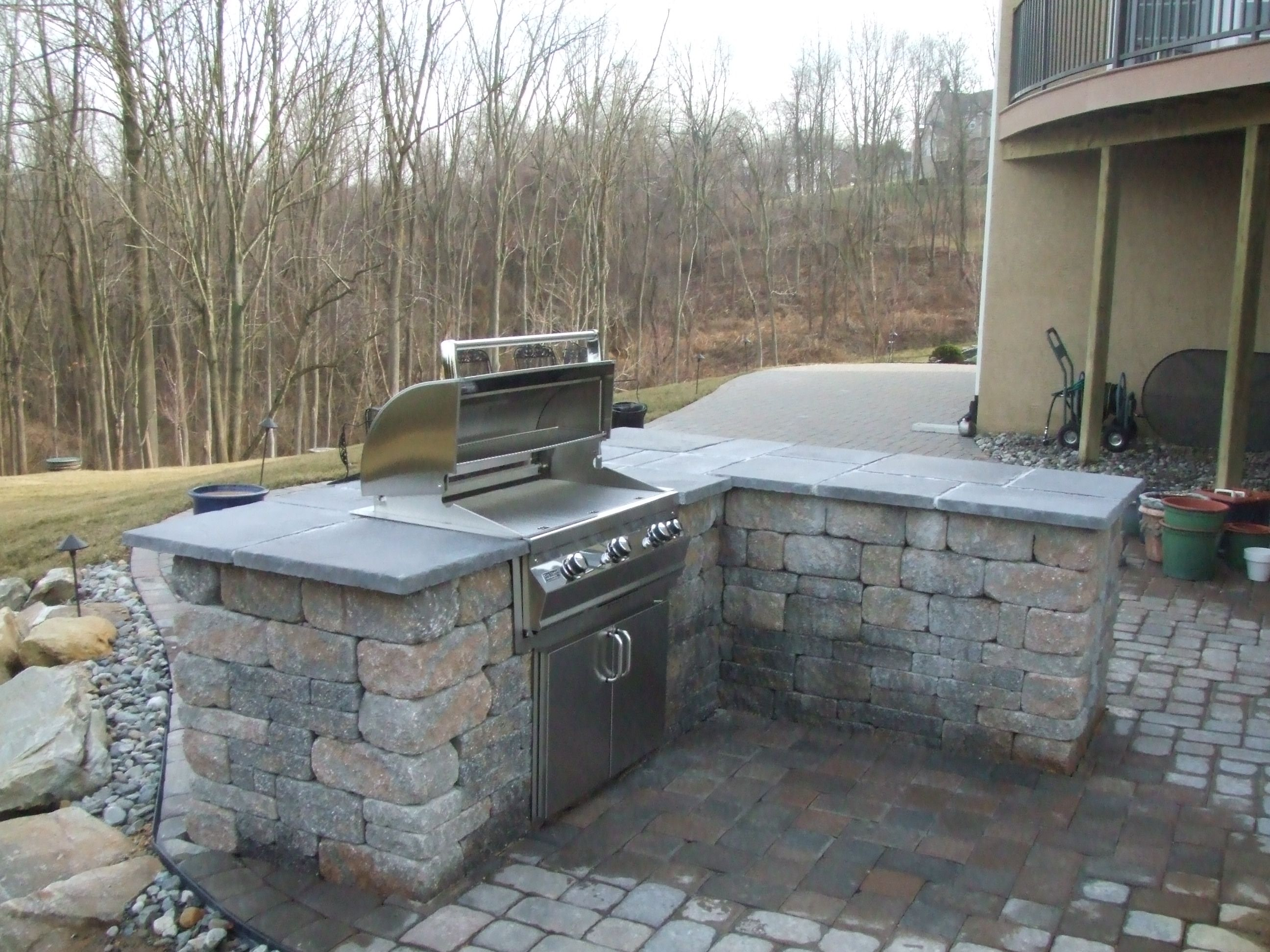 Ideas For The Builtin Gas Grill Ron's Planning To Build On The Patio
