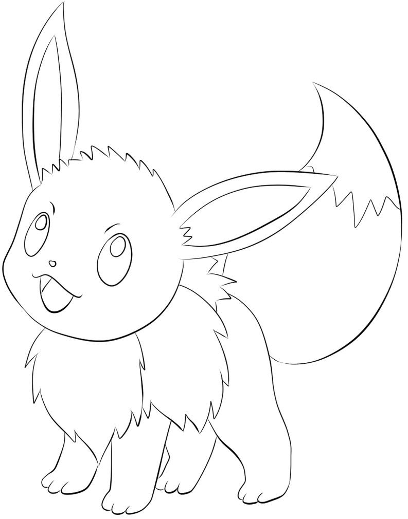 Free Printable Eevee Coloring Pages In 2020 Pokemon Coloring Pages Pokemon Coloring Sheets Pokemon Coloring