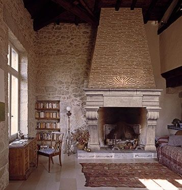 Image Result For Curved Mediterranean Fireplace Ideas