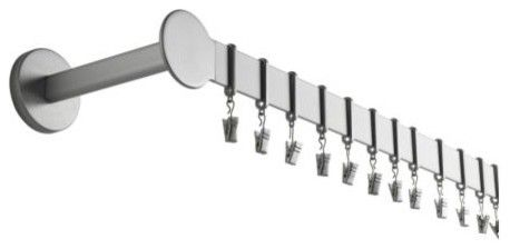 Curtains Ideas curtain pole clips : PRÄKTIG Curtain rod set - modern - curtain poles - IKEA. Has clips ...