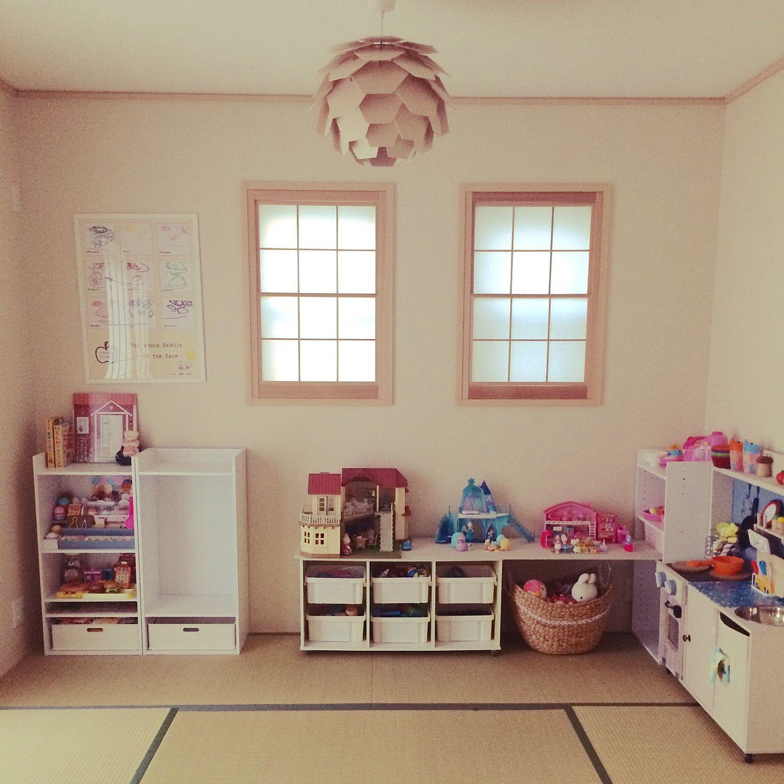 子供部屋ぬいぐるみ収納のインテリア実例 Roomclip ルームクリップ