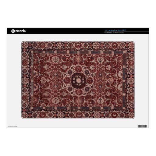 Vintage Persian Tapestry Laptop Skin