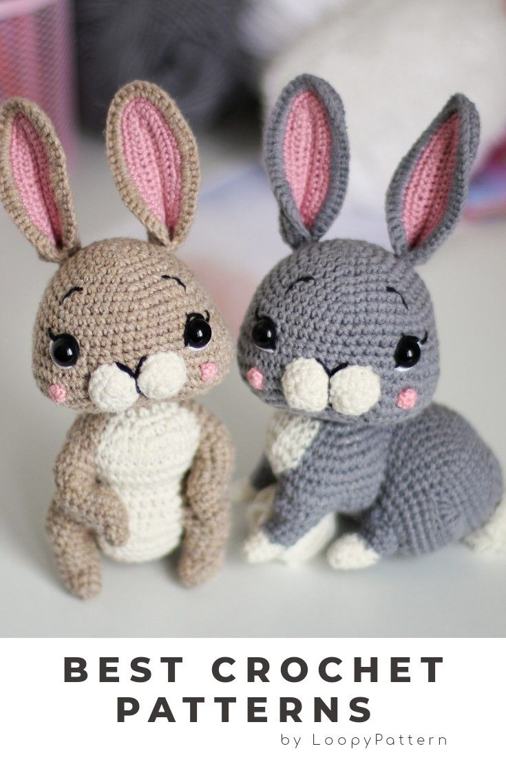 Amigurumi Bunny Doll Pattern | 1102x735