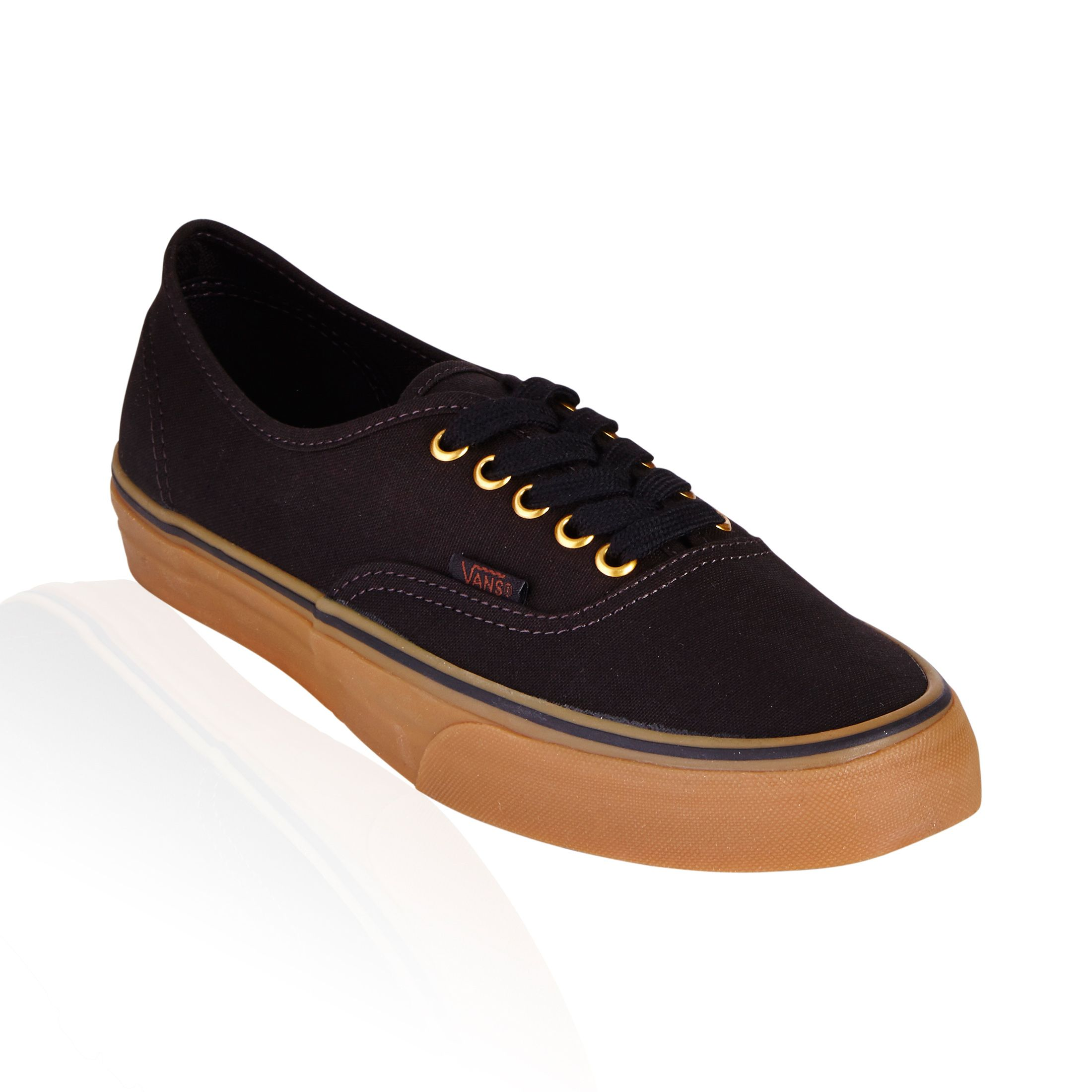 Authentic Black and Caramel Brown Rubber