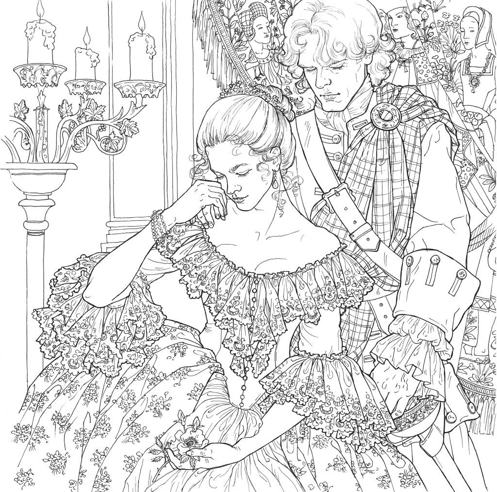 Color Westeros and 18th-Century Scotland!   Coloring Pages ...