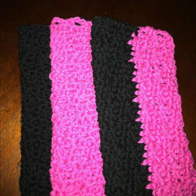More crocheted dish cloths