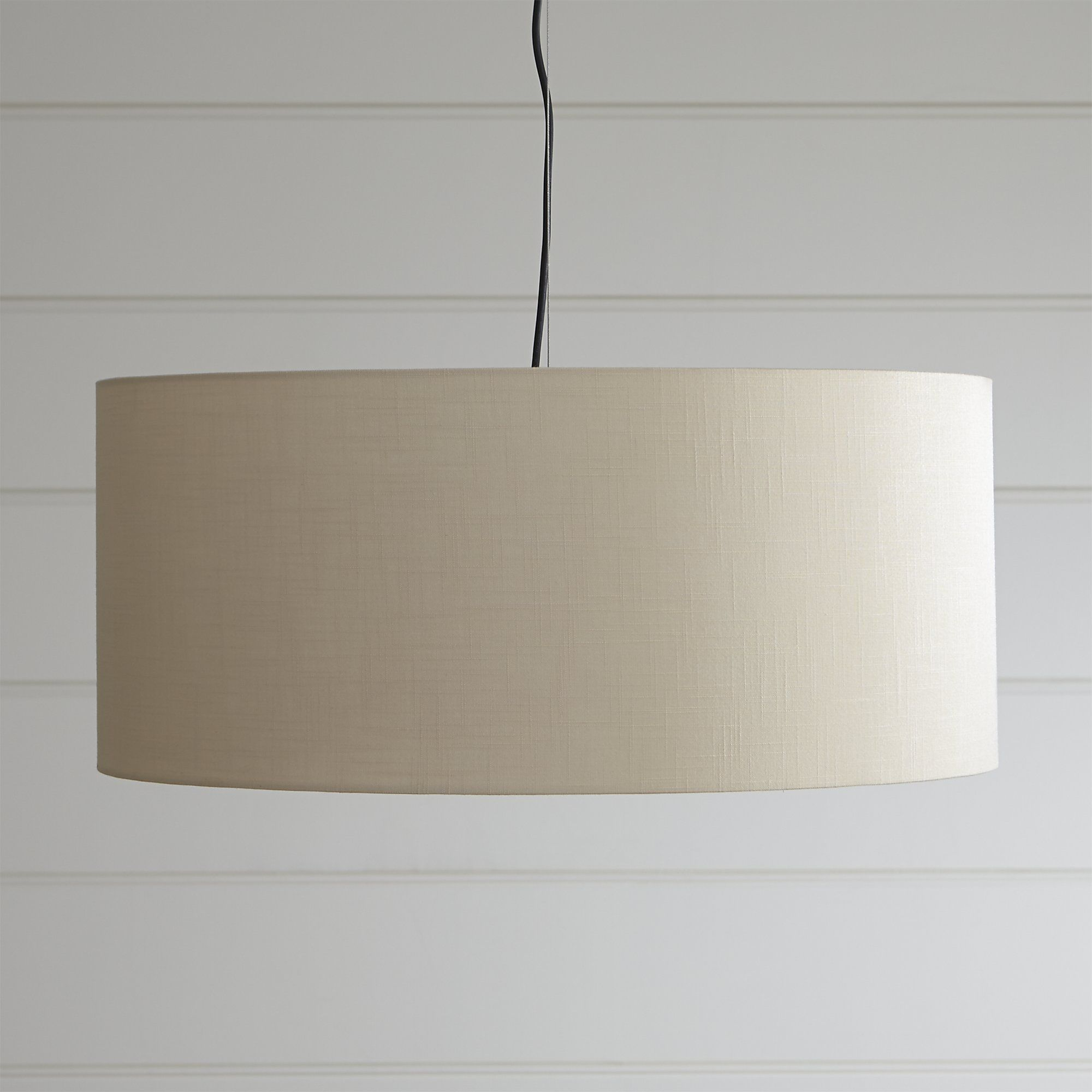 Finley large wheat pendant light crate and barrel dining room