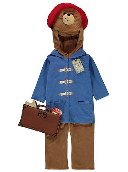 Paddington bear fancy dress costume read reviews and buy online at fancy dress kids dress up george at asda solutioingenieria Images