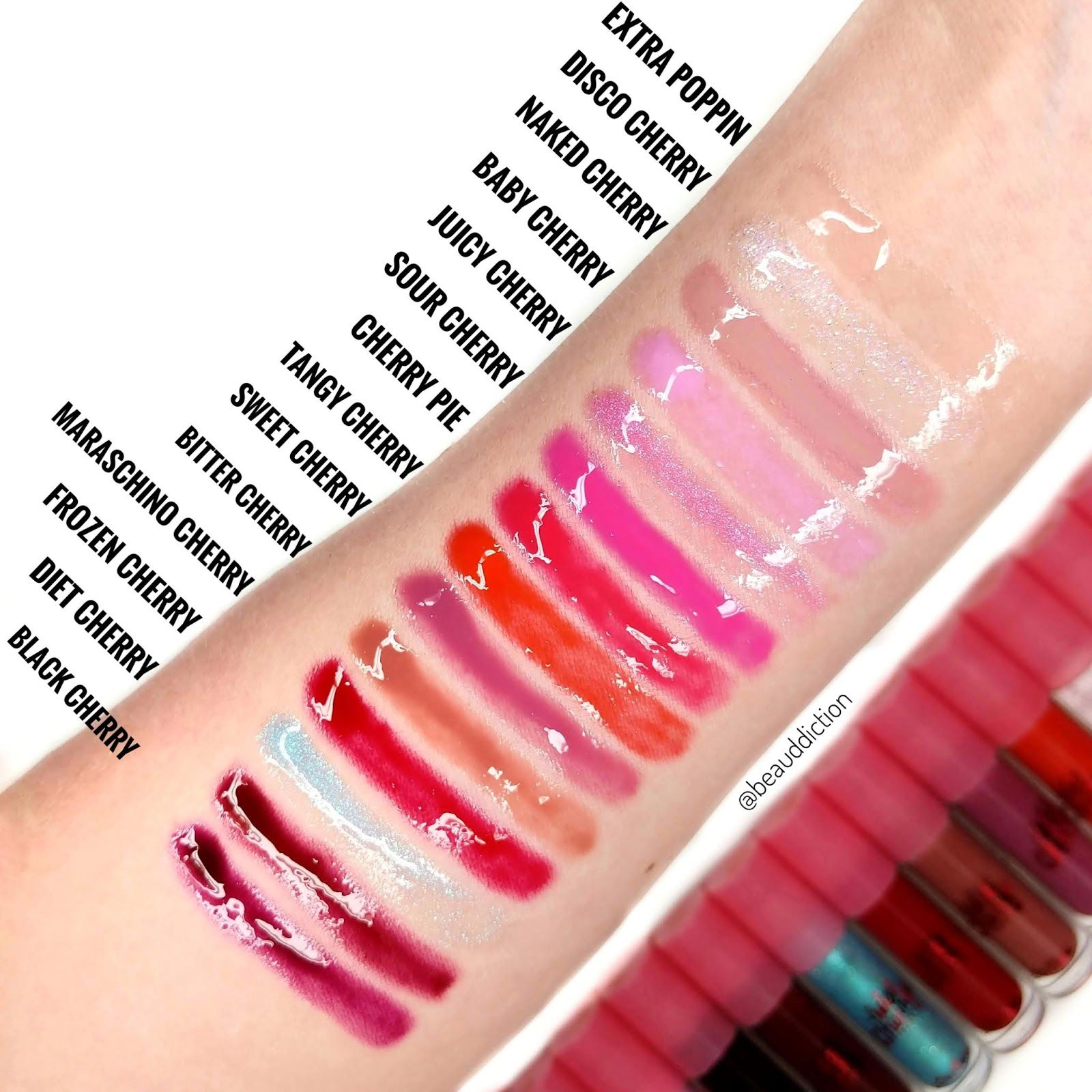 Wet Cherry Lip Gloss by Lime Crime #5
