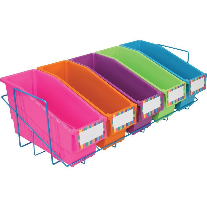Store More® Durable Book And Binder Holder With Stabilizer