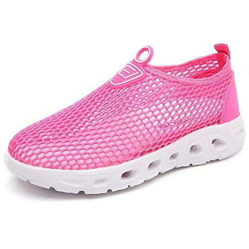 f6458b46d25fd4 HOBIBEAR Girls Quick Dry Water Shoes Lightweight Slip-on ... https