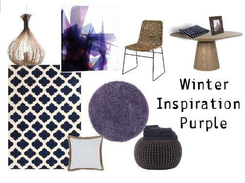 Winter Inspiration - Purple