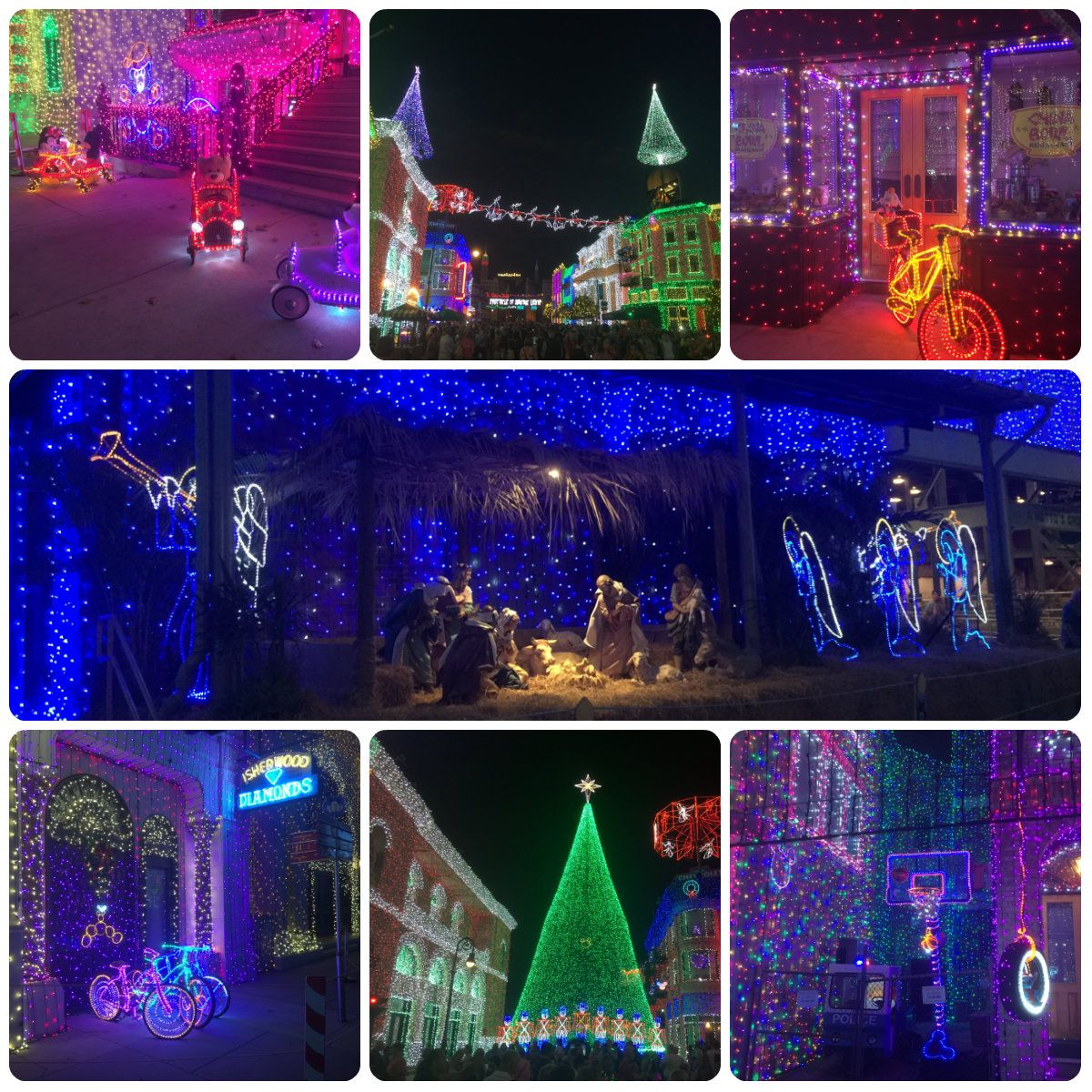 #HollywoodStudios #osbornelights #waltdisneyworld #christmas