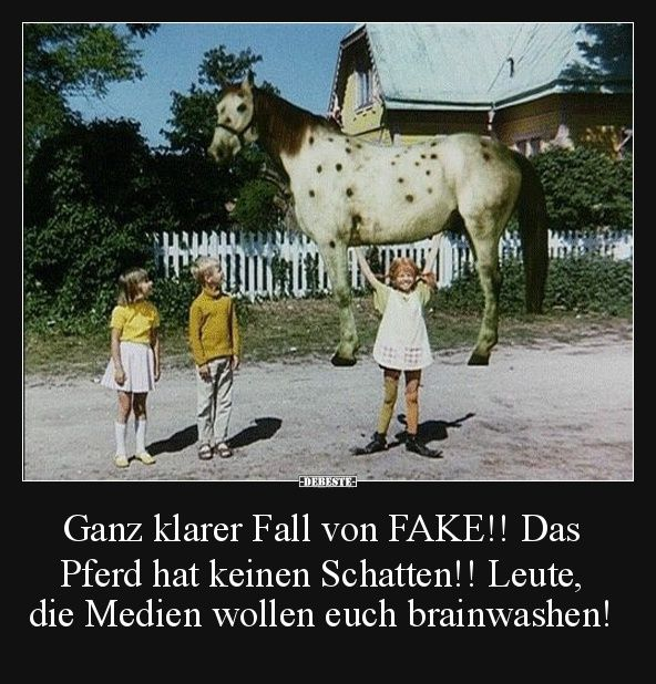 Ganz klarer Fall von FAKE!..   Lustige Bilder, Sprüche ...