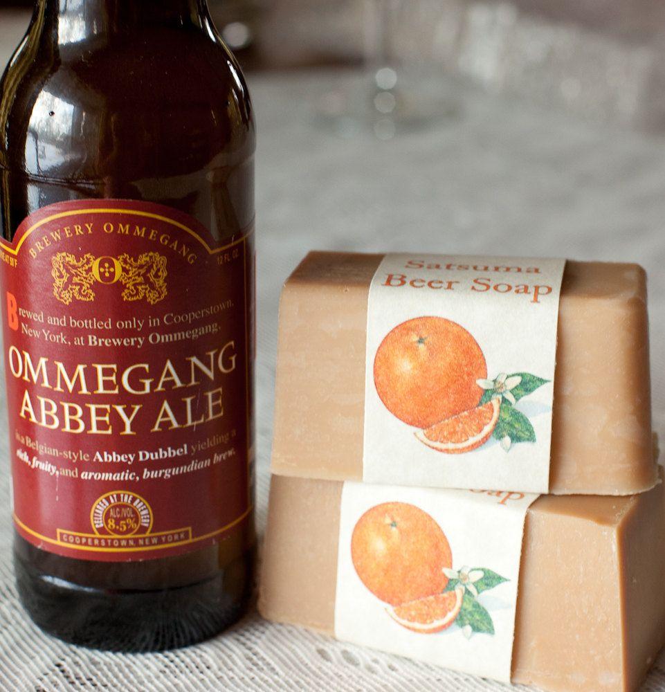 Satsuma Beer Soap. $4.75, via Etsy.