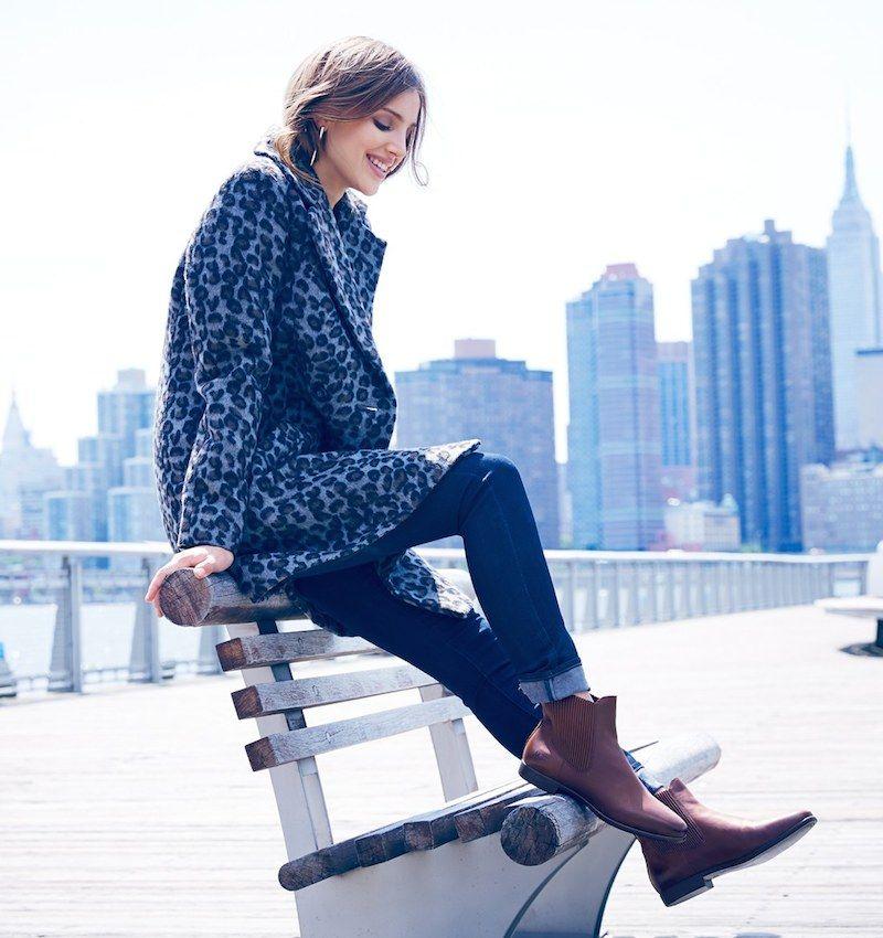 Ugg Australia Jo Leather Chelsea Boot Favor Style Women