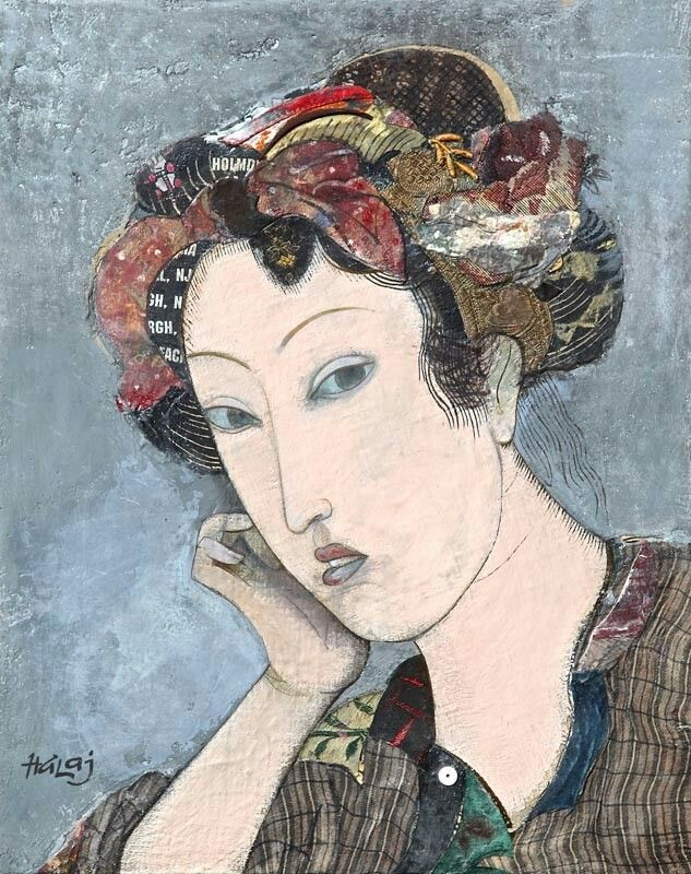 Minas Halaj - Girl from Kyoto, 2015