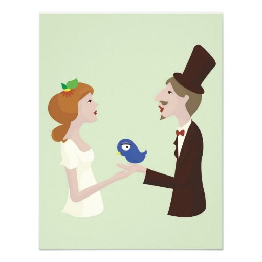 lover with blue bird wedding card other wedding invitations and
