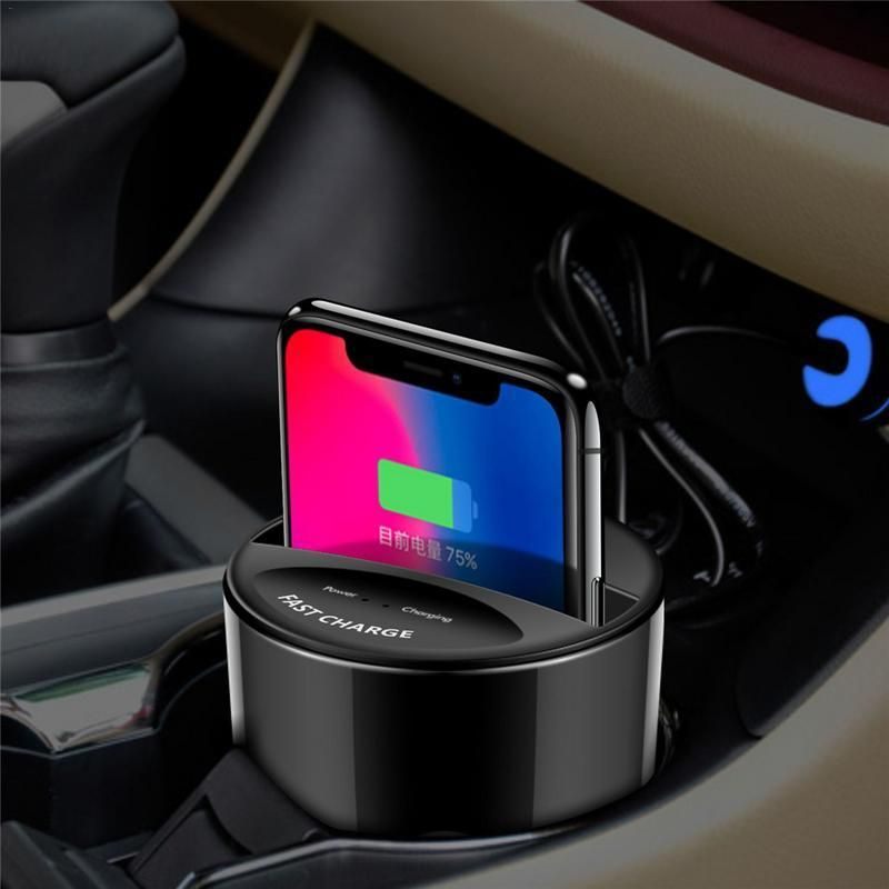 New X9 Car QI Wireless Charger For Apple or Android Mobile