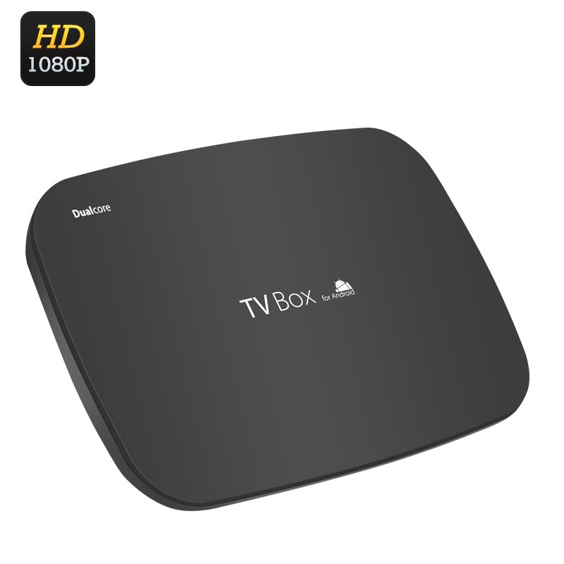 Android Dual Core TV Box - 1080p, AllWinner A20 Cortex 1GHz