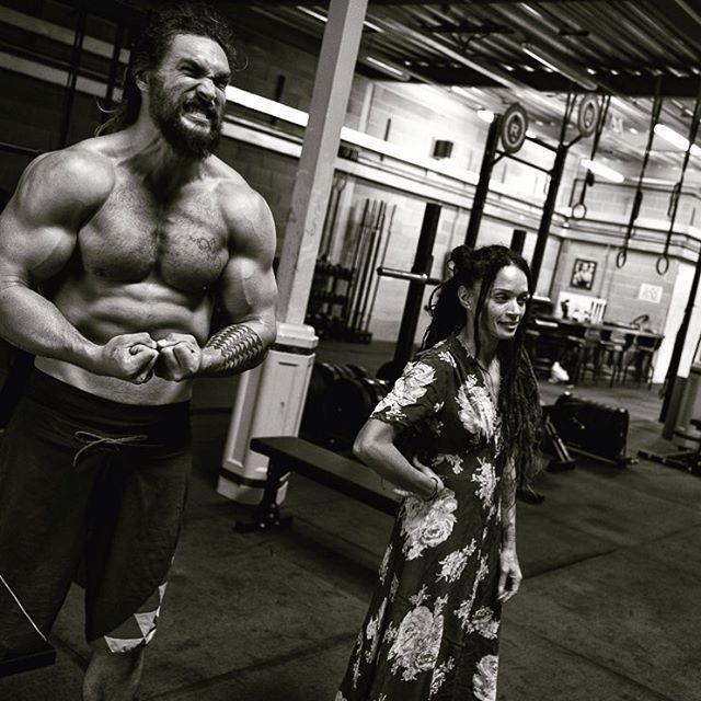 Jason Momoa Wife: Jason Momoa And Lisa Bonet Via Jason's Instagram Beauty