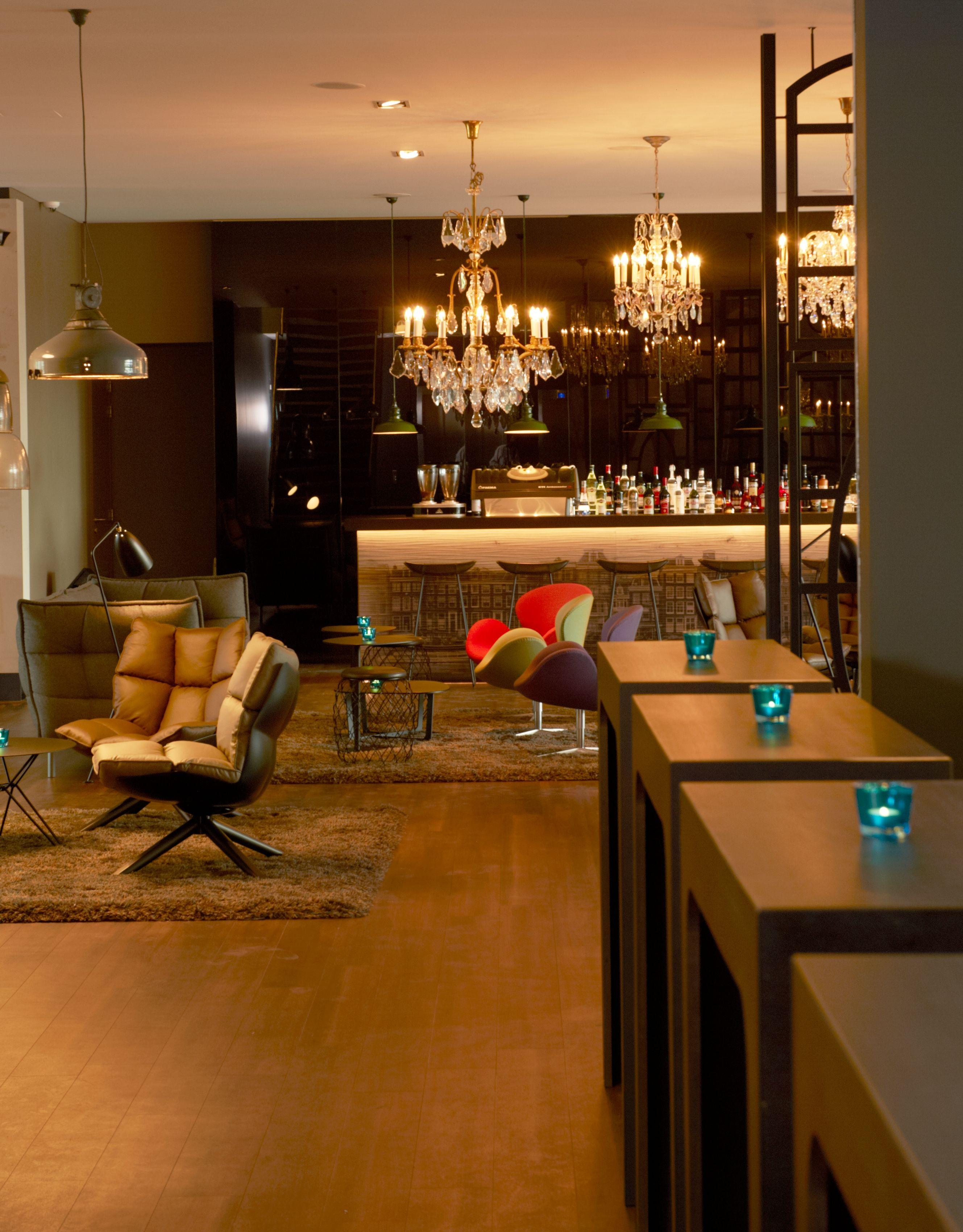Motel Room Interiors: Design Hotel Amsterdam, Design